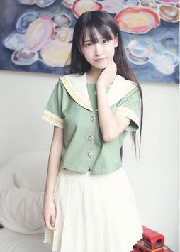 Hot Girls in School Uniform apk screenshot