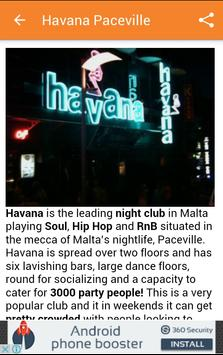 Paceville Malta apk screenshot
