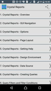Crystal Reports Tutorial for Android - APK Download