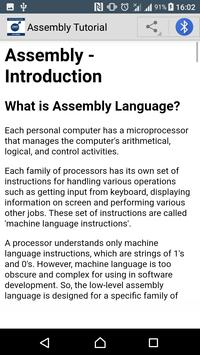Learn Assembly Programming screenshot 2