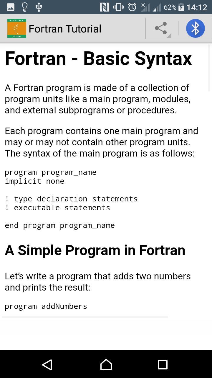 Fortran programming for beginners