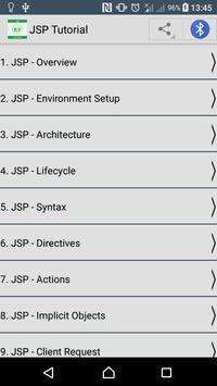 Learn JSP poster
