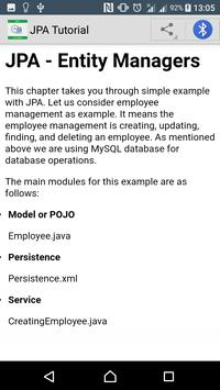 Learn JPA screenshot 3