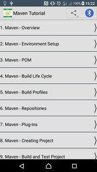 Learn Maven poster