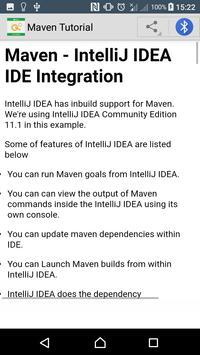Learn Maven screenshot 4