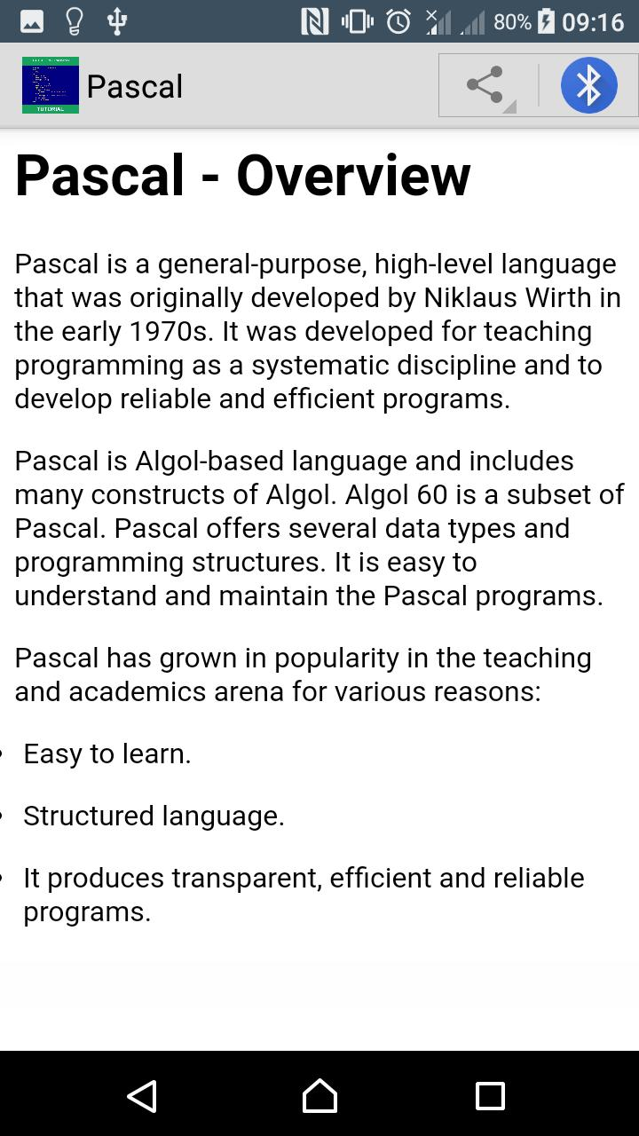 Learn Pascal Programming for Android - APK Download