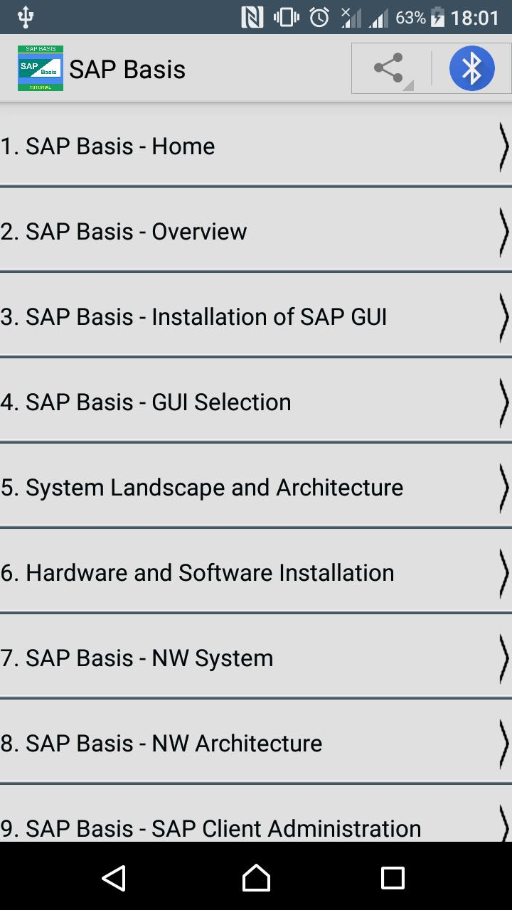 SAP Basis for Android - APK Download