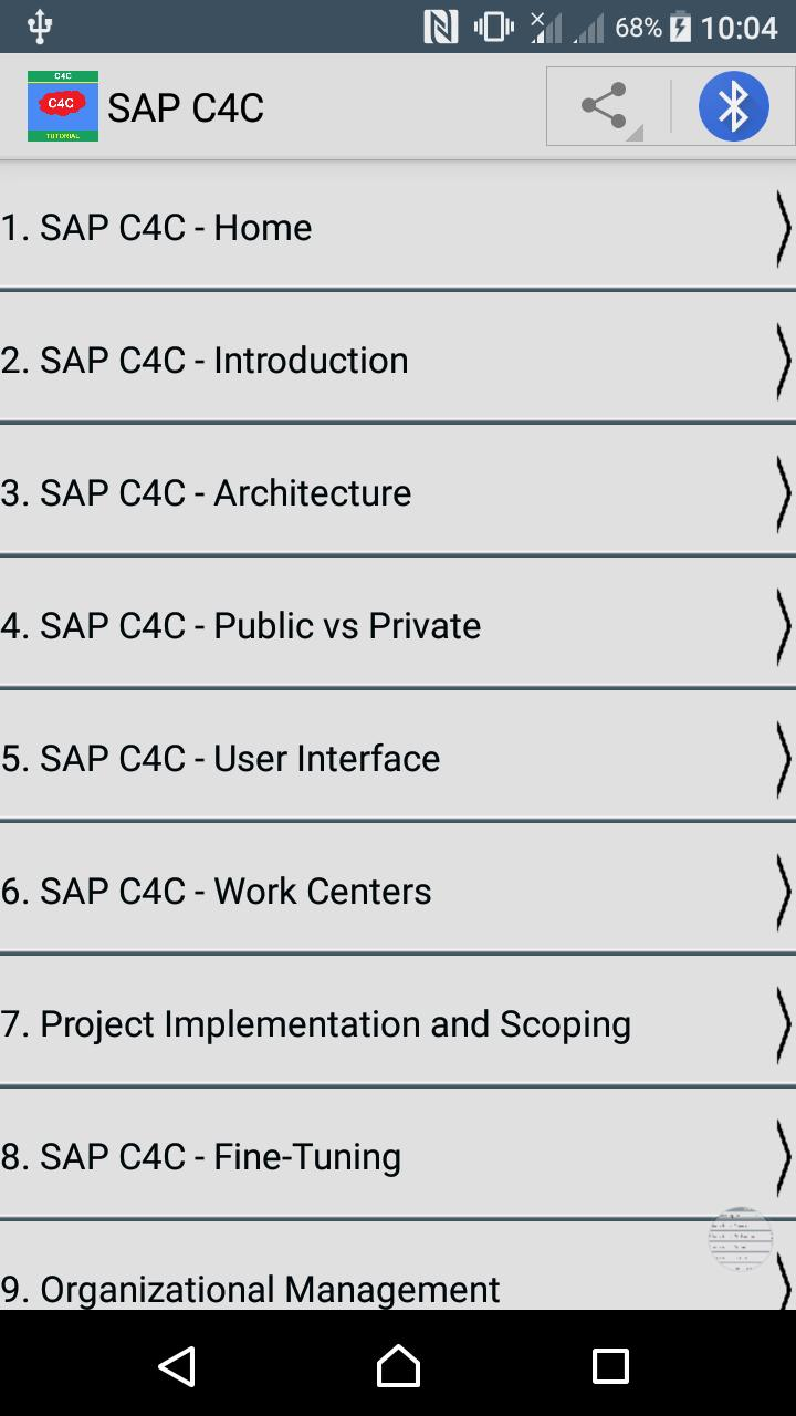 SAP C4C Tutorial for Android - APK Download