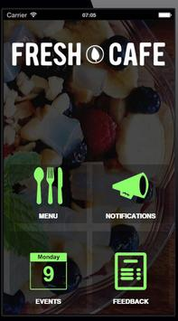 Fresh Cafe apk screenshot