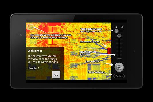 Thermal Vision Camera Effect apk screenshot