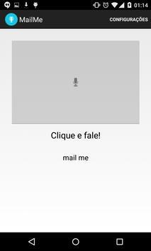 MailMe Voice reminder to email apk screenshot