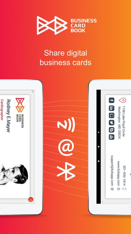 Business card book apk download free business app for android business card book apk screenshot reheart Image collections