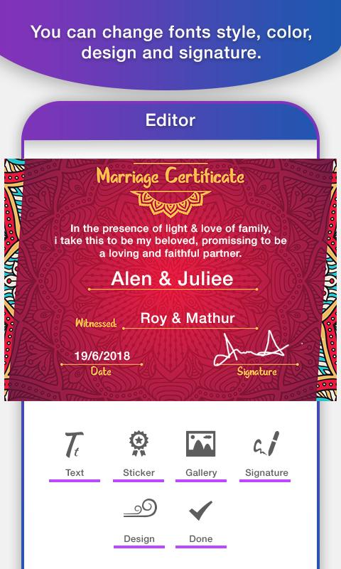 certificate maker for android apk download