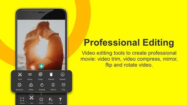 Video Editor for Youtube, Music - My Movie Maker apk screenshot