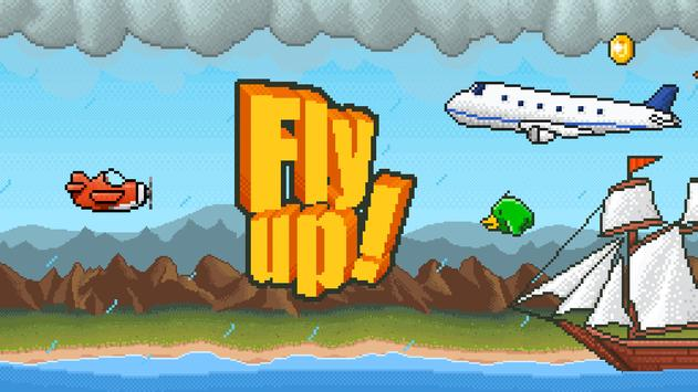 Fly up! poster