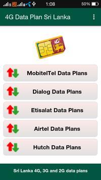 4G Data Plan Sri Lanka poster