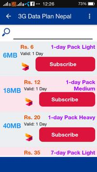 4G Data Plan Nepal apk screenshot