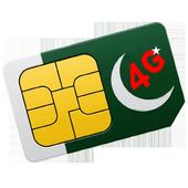 4G Data Plan Pakistan icon