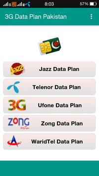 4G Data Plan Pakistan poster