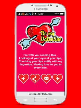 Valentines  Wishes SMS apk screenshot