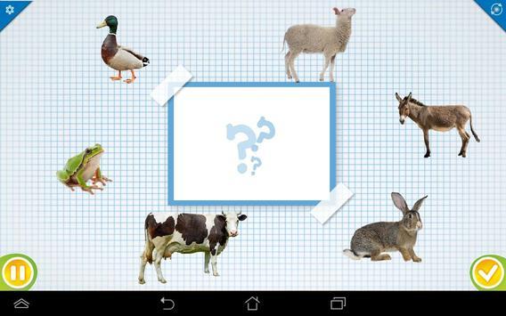 Les animaux de la ferme FR screenshot 1
