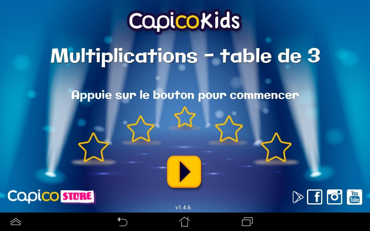 Table de multiplication - 7 for Android - APK Download