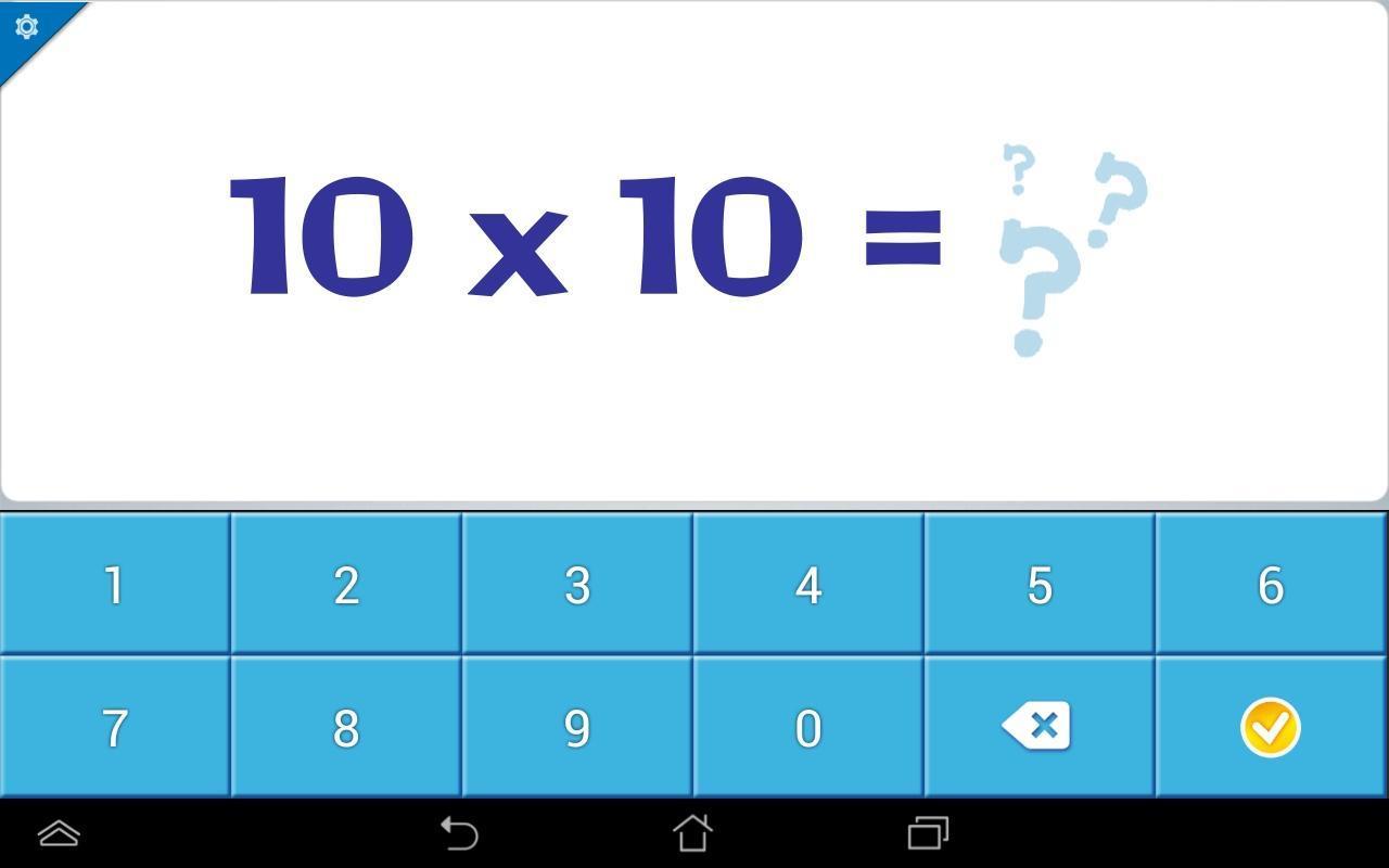 Table de multiplications 10 apk baixar gr tis educa o aplicativo para android - Application table de multiplication ...