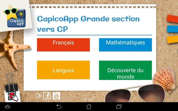 CapicoApp GS vers CP poster