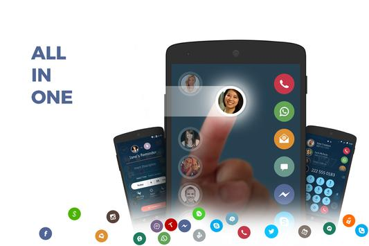 Contacts, Phone Dialer & Caller ID: drupe poster