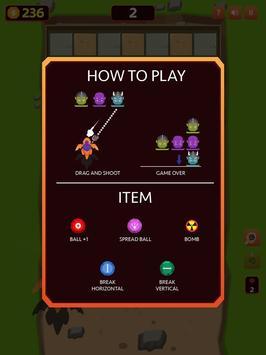 Balls Vs. Monsters War Endless Shooting Game screenshot 8
