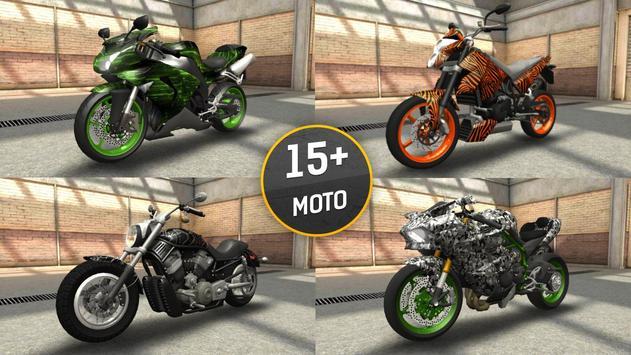 Moto Racing 3D screenshot 2
