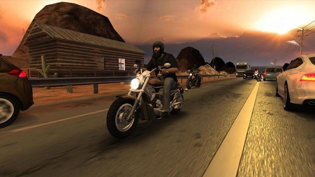 Racing Fever: Moto captura de pantalla 2