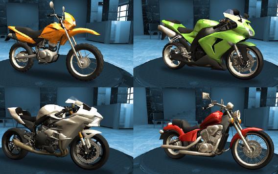 Racing Fever: Moto captura de pantalla 8