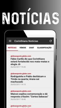 Notícias do Corinthians screenshot 1