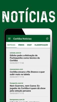 Coxa - Notícias do Coritiba screenshot 1