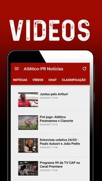 Notícias do Atlético-PR screenshot 2