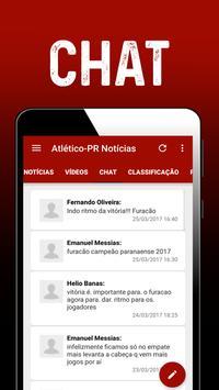 Notícias do Atlético-PR apk screenshot