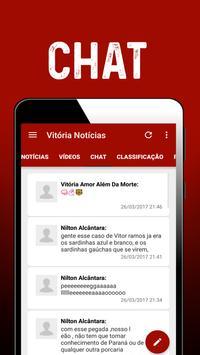 Notícias do Vitória apk screenshot
