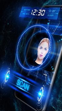 Unlock Phone with Face Detection Locker (Prank) poster