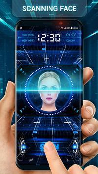 Unlock Phone with Face Detection Locker (Prank) screenshot 1