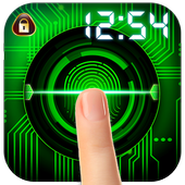New Fingerprint Lock Screen 2017 Prank icon
