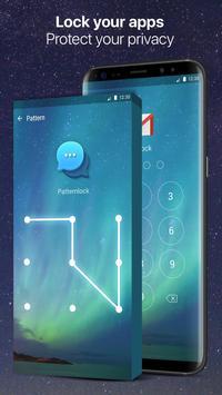 Space fingerprint style lock screen for prank screenshot 6