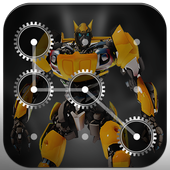 3D Hero Lock Screen - Pattern & Password Lock icon