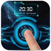 Fingerprint Lockscreen App (Prank) icon