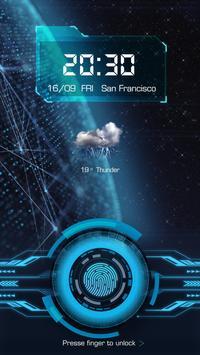 Fingerprint Lockscreen App (Prank) poster