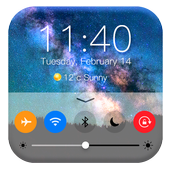 Password for lock screen phone7 control center icon