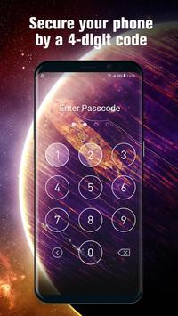 Password for lock screen phone7 control center poster