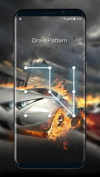 Car Parallax Locker&Live lock screen for Free screenshot 2