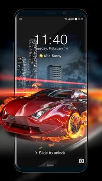 Car Parallax Locker&Live lock screen for Free screenshot 4