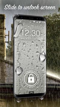 Waterdrop lock screen for you screenshot 1